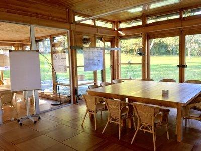 Vienna workshop spaces Parcs / Jardins Seminar Room in the nature image 0