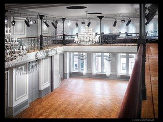 NYC corporate event venues Historische Gebäude Bohemian National Hall - Ballroom image 1