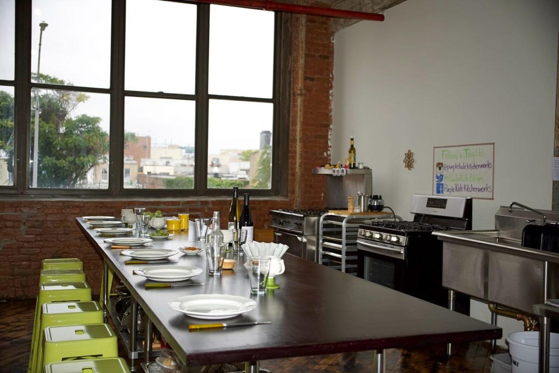 NYC workshop spaces Industrial space Brooklyn Culinary Studio image 1