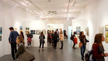 NYC corporate event venues Galerie d'art Caelum Gallery image 5
