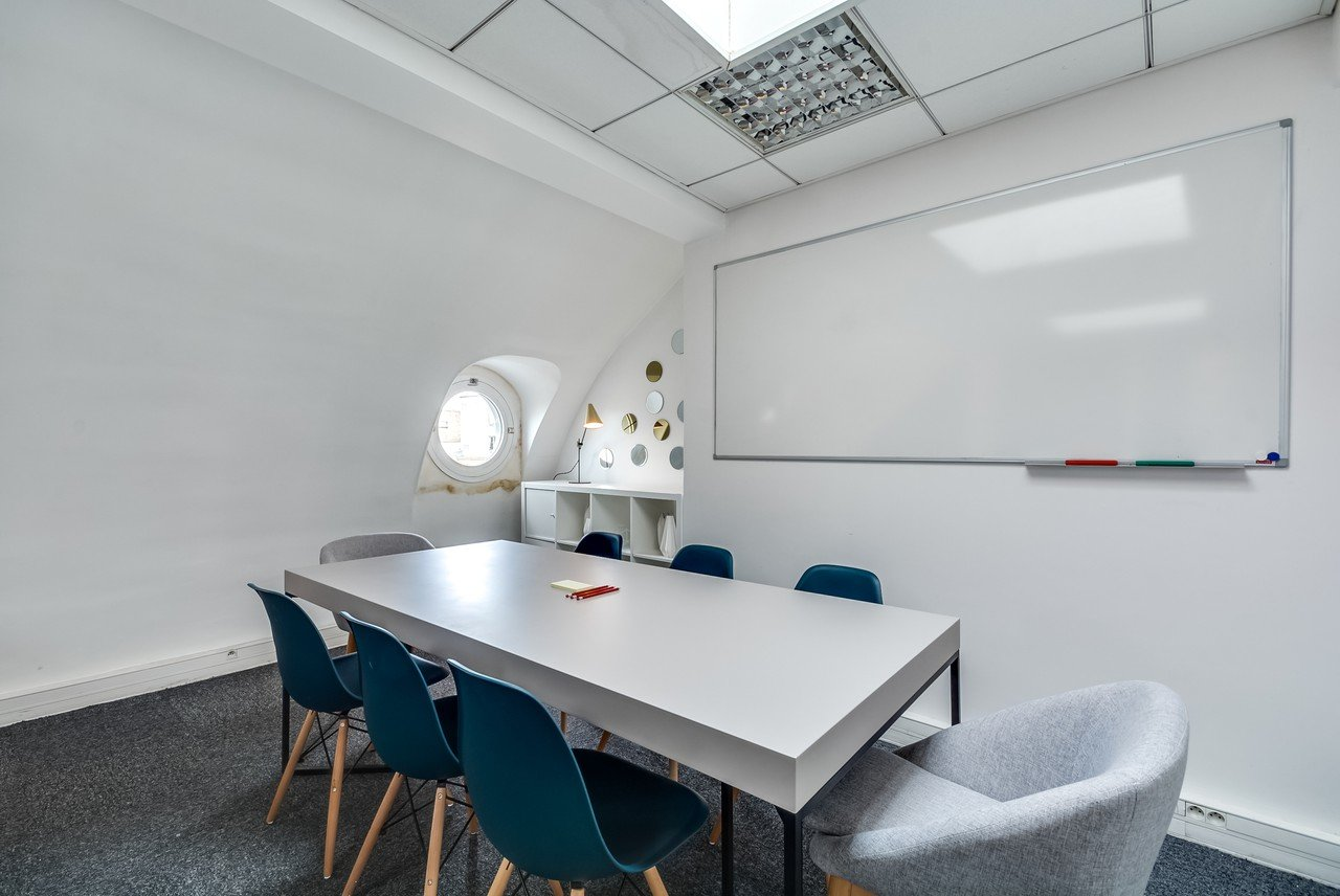 Paris Train station meeting rooms Meetingraum Ruche image 2