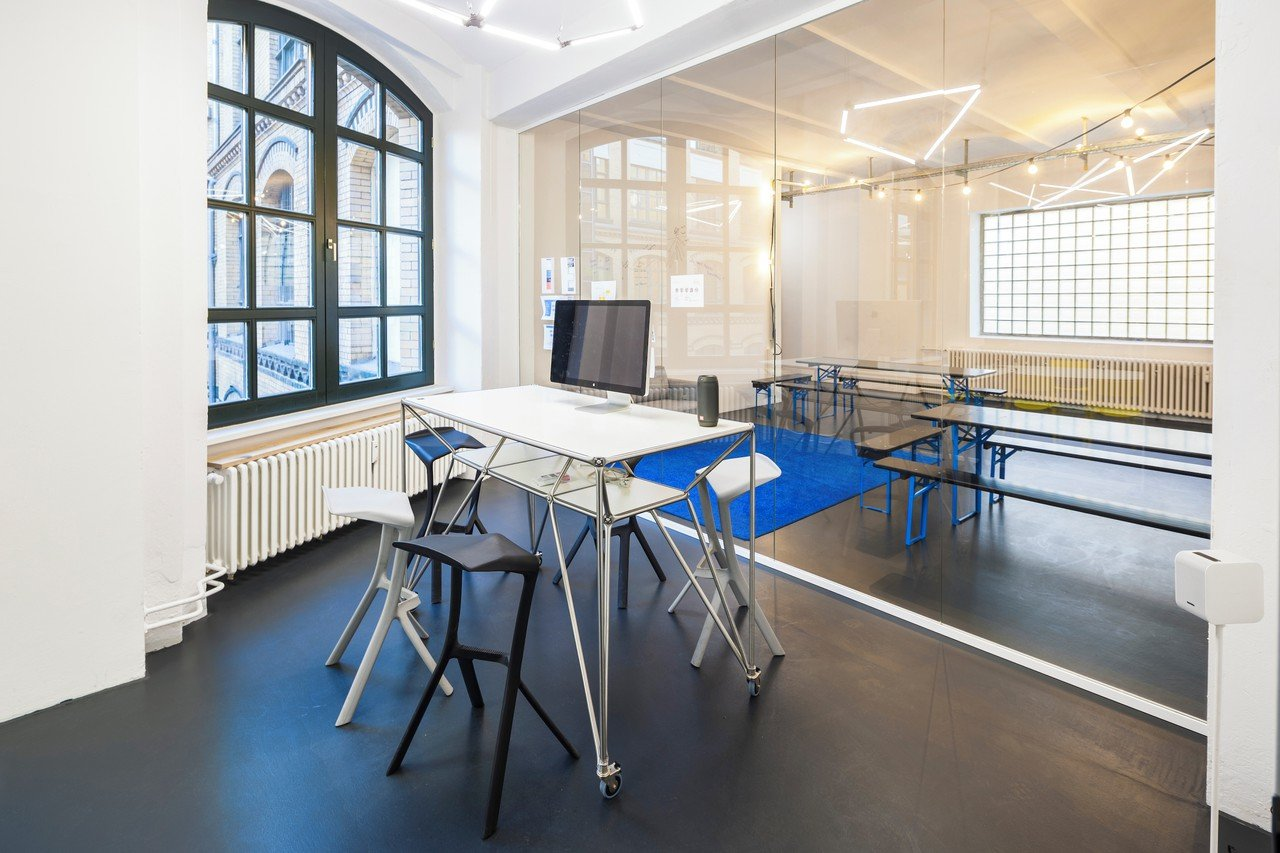 Berlin conference rooms Lieu industriel Goodpatch Meeting Rooms image 0