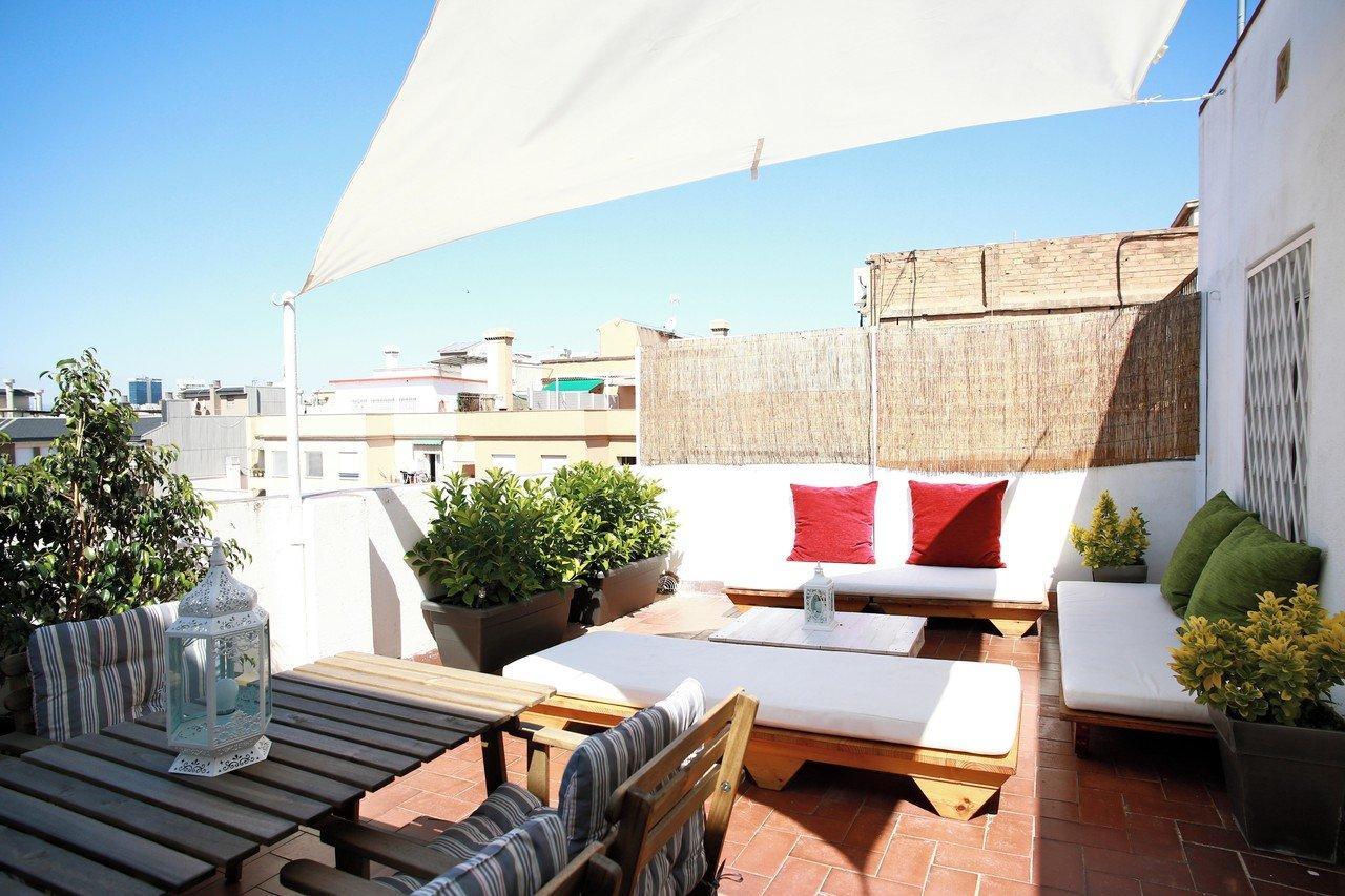 Barcelona workshop spaces Rooftop Carrer del comte d'Urgell image 1