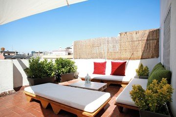 Barcelona workshop spaces Rooftop Carrer del comte d'Urgell image 2
