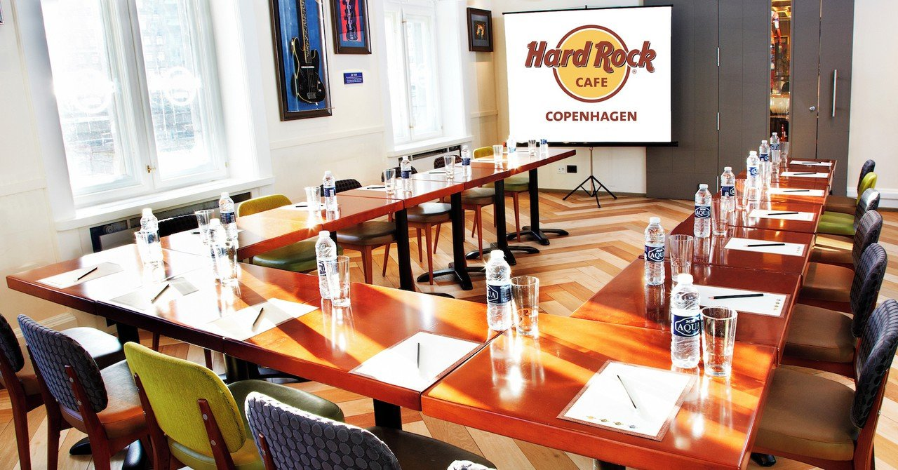 Copenhague seminar rooms Restaurant Hard Rock Cafe Copenhagen image 1
