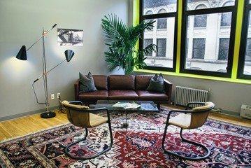 NYC workshop spaces Salle de réunion Voyager HQ Club Room image 4
