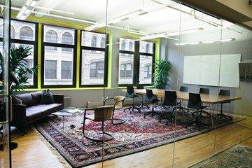 NYC workshop spaces Salle de réunion Voyager HQ Club Room image 3