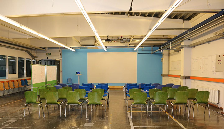 Berlin workshop spaces Industriegebäude Ber-LEAN TechCenter image 2