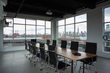 NYC training rooms Salle de réunion Green Desk - Skyline Meeting Room image 0