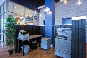 NYC training rooms Salle de réunion Green Desk - Skyline Meeting Room image 5