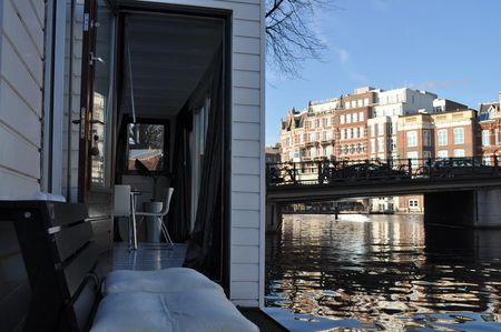 Amsterdam conference rooms Boot Rembrandt square houseboat image 15