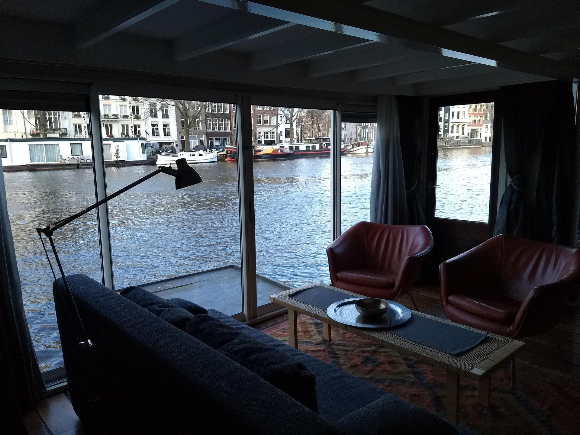 Amsterdam conference rooms Boot Rembrandt square houseboat image 20