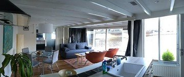 Amsterdam conference rooms Boat Rembrandt square houseboat image 20