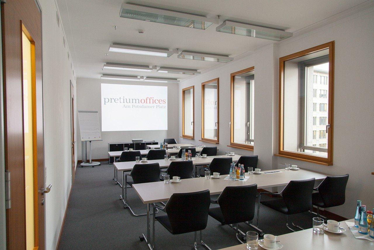 Berlin seminar rooms Meetingraum Raum Beethoven P5 image 0