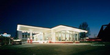 Hamburg workshop spaces Lieu Atypique Oldtimer Tankstelle – Der Erfrischungsraum image 1