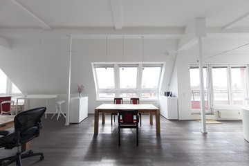 Berlin workshop spaces Private residence Penthouse loft in Berlin Mitte with amazing skyline view image 0