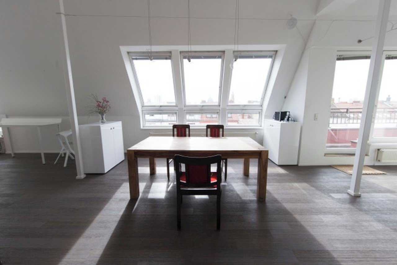 Berlin workshop spaces Loft Penthouse loft in Berlin Mitte with amazing skyline view image 0