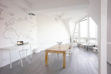 Berlin workshop spaces Private residence Penthouse loft in Berlin Mitte with amazing skyline view image 17