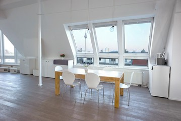 Berlin workshop spaces Private residence Penthouse loft in Berlin Mitte with amazing skyline view image 16