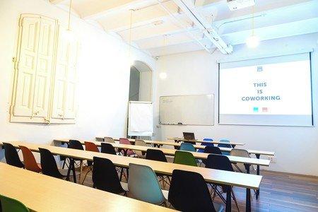 Barcelona  Meeting room CREC Coworking Eixample - Sala Sheldon Cooper image 1