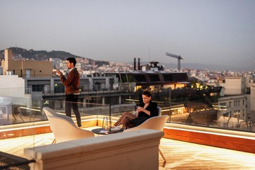 Barcelona workshop spaces Rooftop Rooftop   Event venue in Diagonal, Barcelona image 5