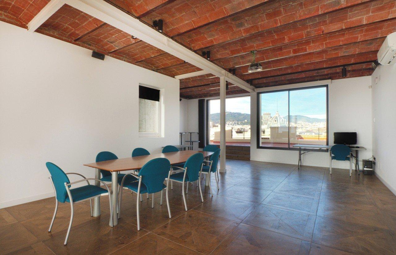 Barcelone conference rooms Rooftop La Portería image 9