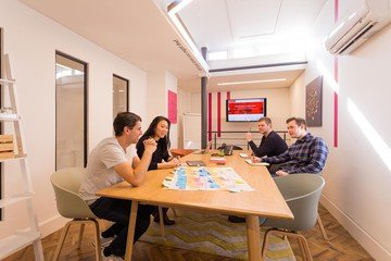 Manchester conference rooms Meetingraum Headspace Manchester Meeting Room 8ppl  (CA) image 1