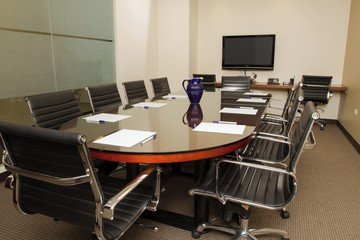 NYC training rooms Meeting room Corporate Suites -10 Person Meeting Room Madison Ave image 1