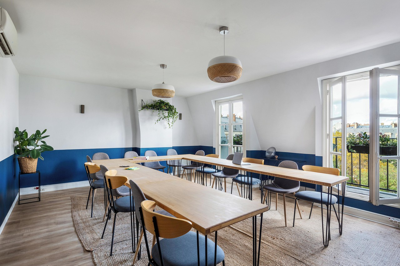 Paris workshop spaces Meeting room Keeze Saint Lazare image 6