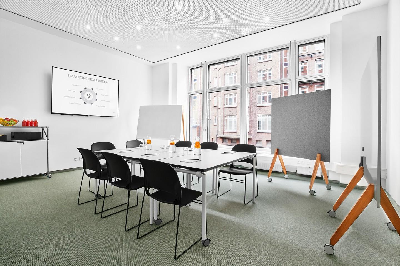 Hamburg seminar rooms Meetingraum BAZE Business Center - Workshop Room Ottensen image 0