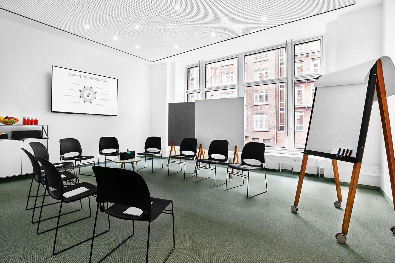 Hamburg seminar rooms Meetingraum BAZE Business Center - Workshop Room Ottensen image 2