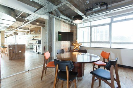 London conference rooms Coworking space The Trampery Old Street - West Room image 0