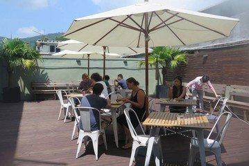 Hong Kong workshop spaces Hof The Hive Sai Kung - Courtyard image 11