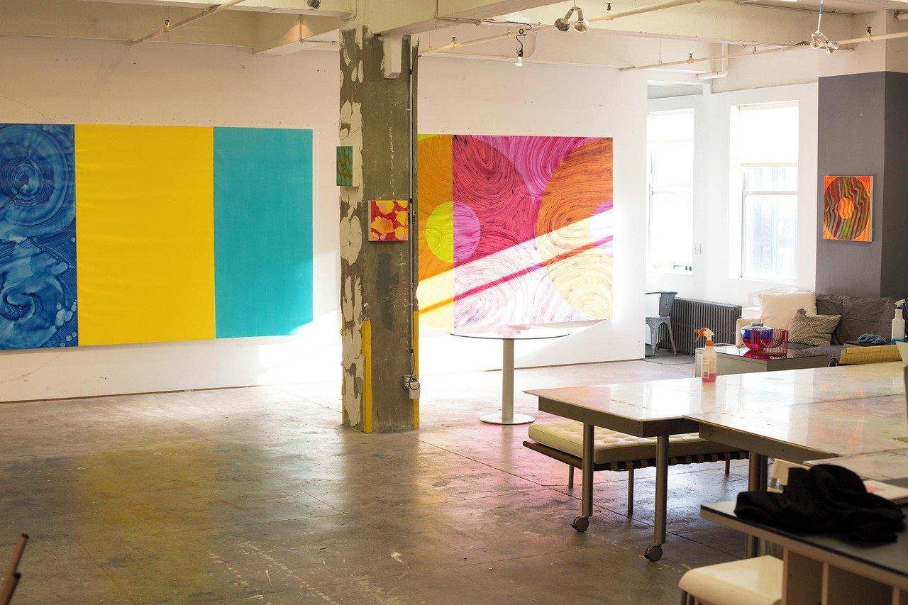 NYC workshop spaces Galerie d'art Chelsea Artist Studio image 1