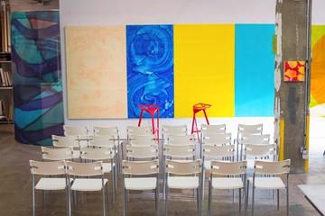 NYC seminar rooms Galerie d'art Chelsea Artist Studio image 2