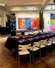 NYC seminar rooms Galerie d'art Chelsea Artist Studio image 6