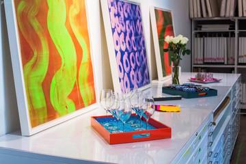 NYC seminar rooms Galerie d'art Chelsea Artist Studio image 7