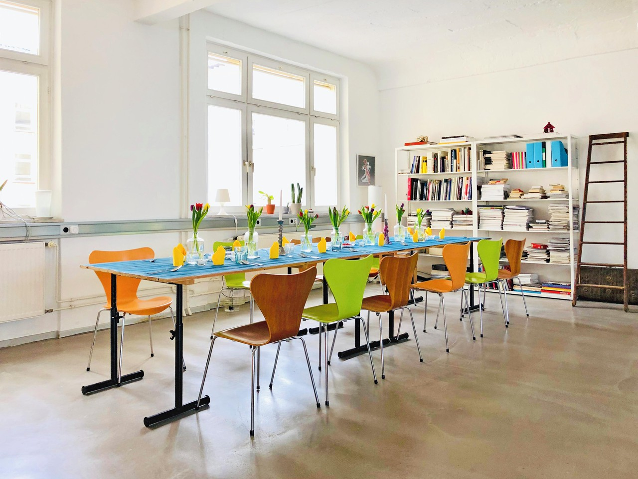 Frankfurt workshop spaces Loft Bright loft in Offenbach city centre image 5