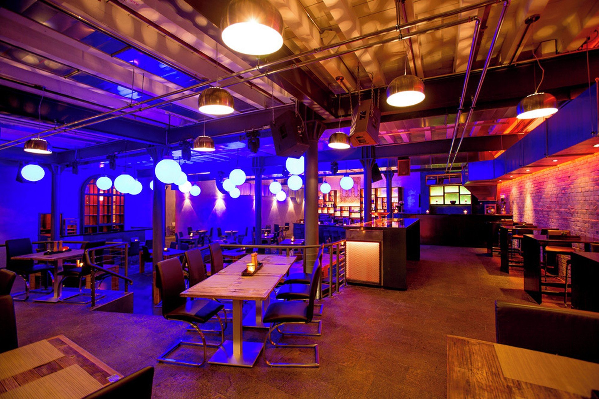 Mannheim corporate event venues Restaurant Manufaktur hinterer Teil (mit Beach Bar) image 5