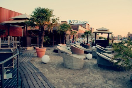 Mannheim corporate event venues Restaurant Manufaktur hinterer Teil (mit Beach Bar) image 6