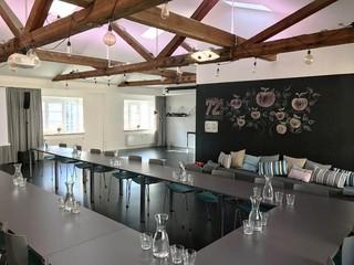 München Seminarräume Meetingraum Dachwerk Event image 7