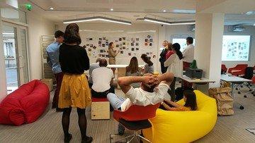 Paris  Coworking space Salle de créativité Bureaulib Dupleix image 1
