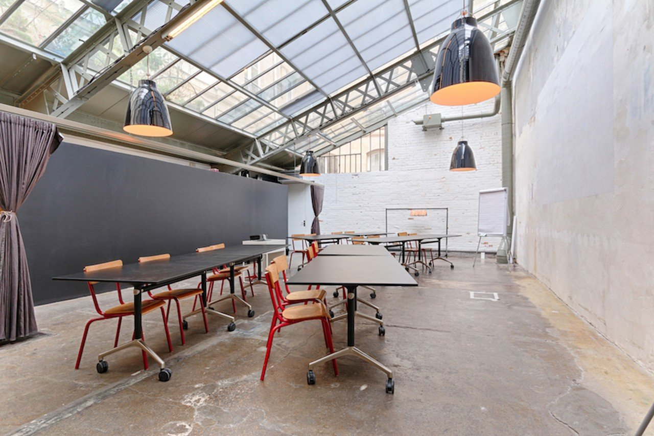 Paris training rooms Industrial space Workshop modulable image 0