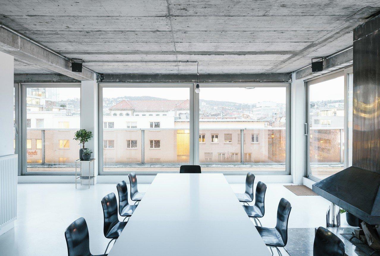 Stuttgart seminar rooms Dachterrasse Studio Raum image 1