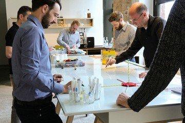 Berlin  Salle de réunion Base1 - Raum für Neues Arbeiten image 3