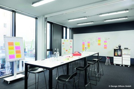 Stuttgart workshop spaces Meetingraum Design Offices - Fireside Room image 0