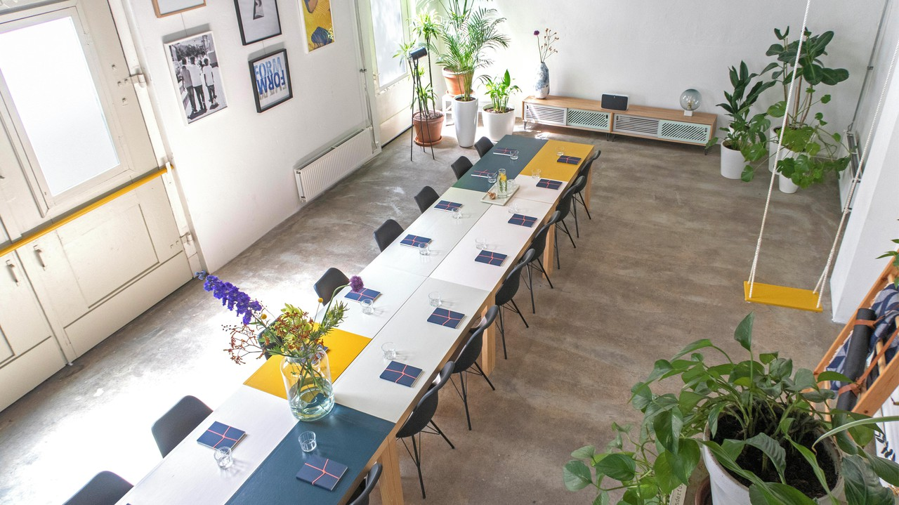 Amsterdam workshop spaces Loft MMousse - Canal house image 0