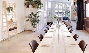Amsterdam workshop spaces Meeting room MMousse - a downtown canal house image 0