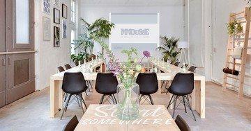 Amsterdam workshop spaces Salle de réunion MMousse - a downtown canal house image 2