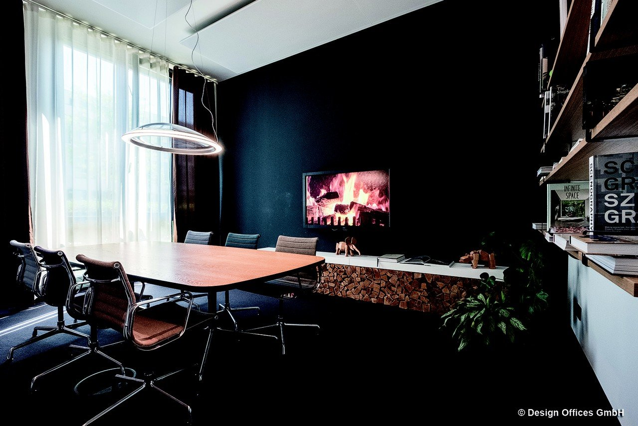Berlin Workshopräume Meetingraum Design Offices Arnulfpark - Fireside Room image 0
